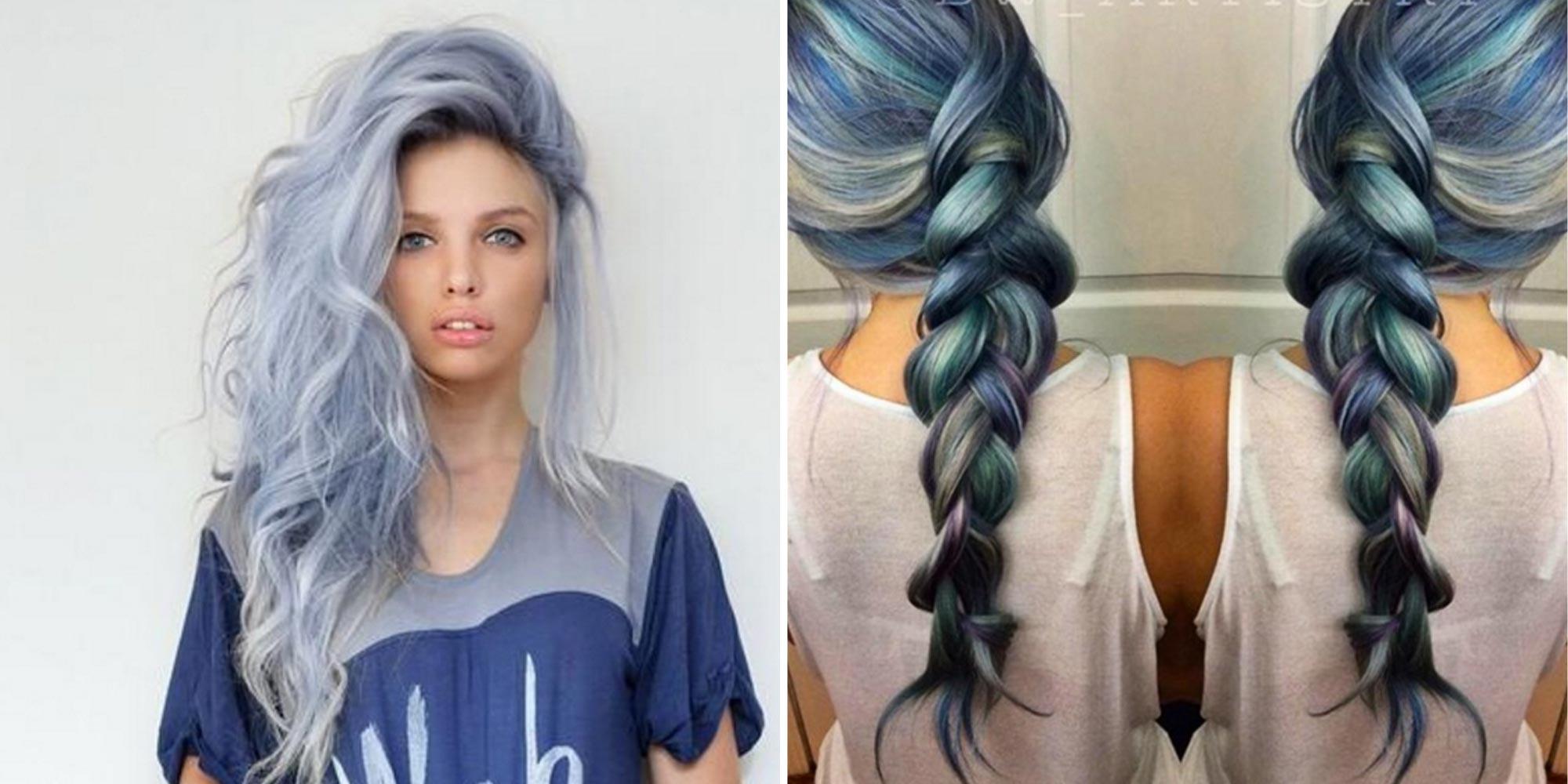 Denim Hair Podbijają Internet Dżinsowe Włosy To Hit