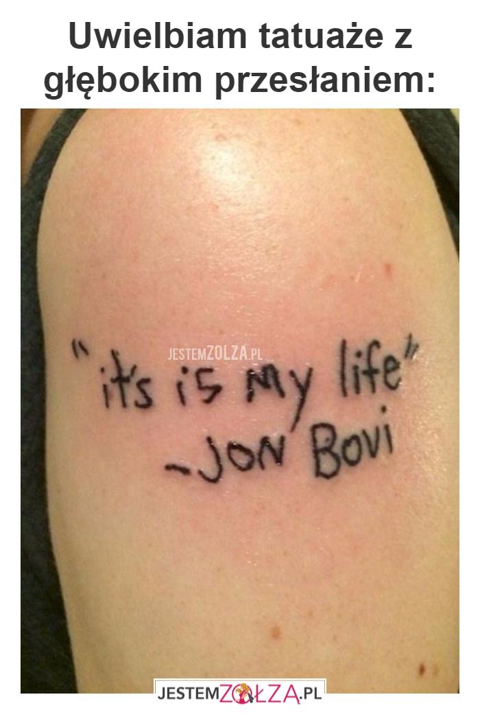 Uwielbiam Tatuaże
