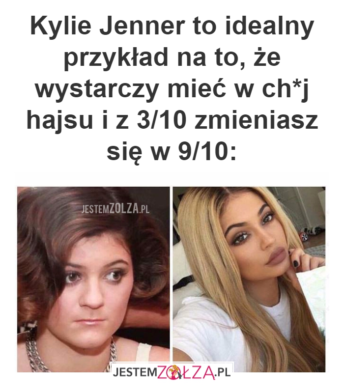 Kylie Jenner to idealny...