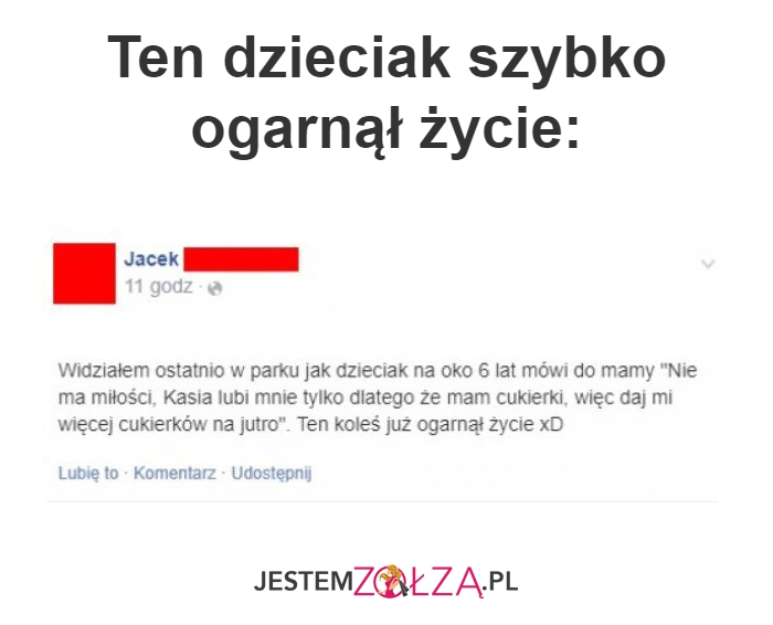 Ten dzieciak